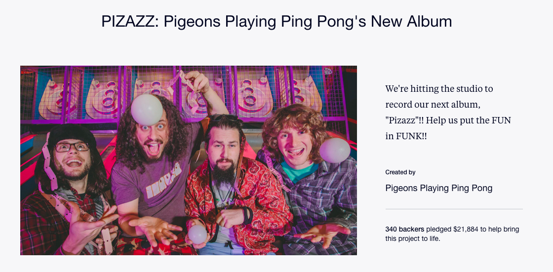 Pigeons Playing Ping Pong Pizazz